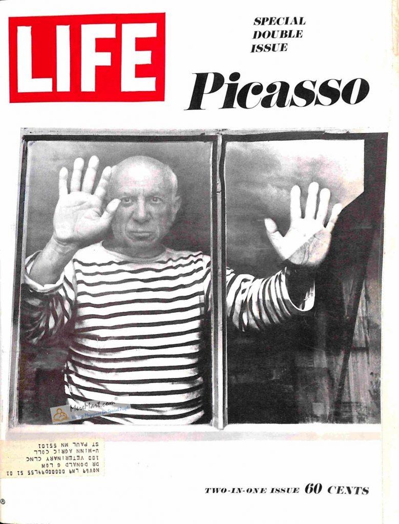 Life magazine dicembre 1968 Picasso ritratto da Ralph Graves