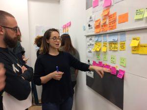 I gruppi nei workshop di journey mapping