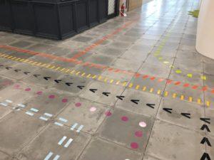 Il wayfinding della metro
