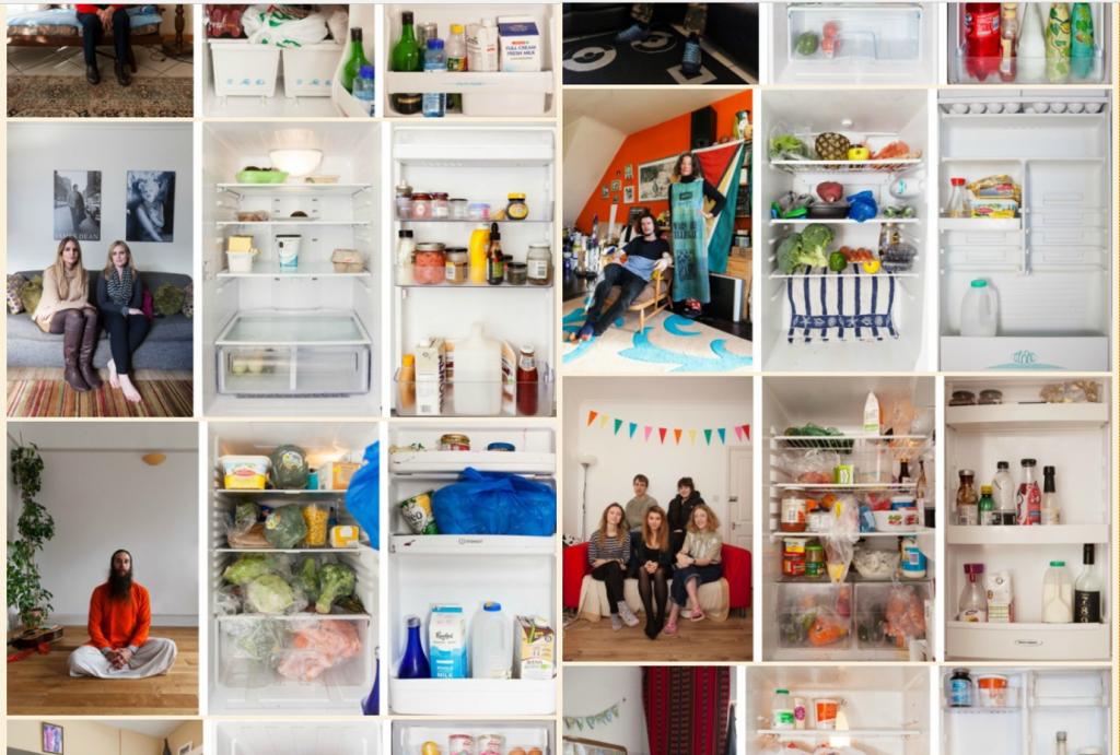 Show me your fridge! Project by Sandra Junker